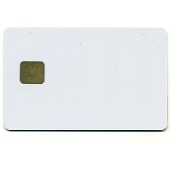 Plastkort hvite + Chip
