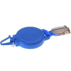Jojo med bukseseleklips ampers krok for kort med hull blå