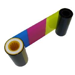Fargebånd Datacard SR 200/300 ampers RP 90 Fargebånd YMCK