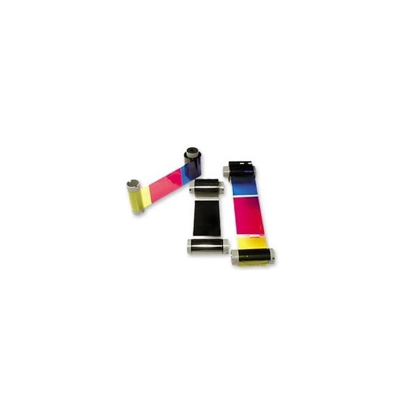 Fargebånd Magicard UR8 YMCKOK panel - 200 kort
