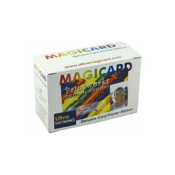 Fargebånd Magicard UR10 Grønn panel -1000 kort