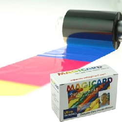 Fargebånd Magicard - YMCKO panel - 250 kort kun AVALON
