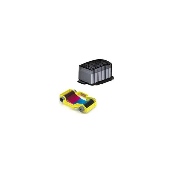 Opera PCF1 - 50 PVC cards in dispenser + 50 shot YMCKO casse