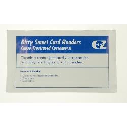 Rensekort våte uten mag til innstikksleser/smartkort