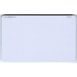 Plastkort hvite