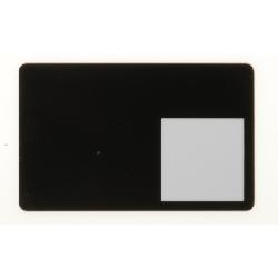 Plastkort Sort med fotorute