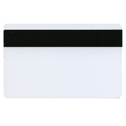 Plastkort hvite HiCo mag + Mifare 4k desfire + Cyberflexchip