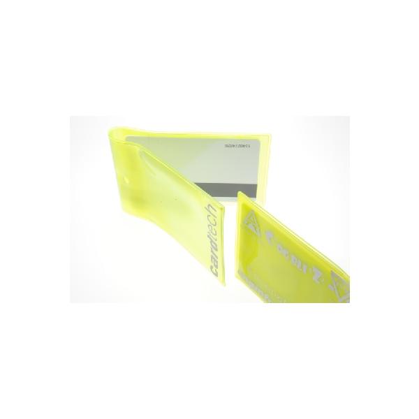 Kortholder Myk plastlomme dobbel m ct logo