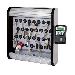 Deister Proxsafe Nøkkelskap panel med plass til 16 nøkler