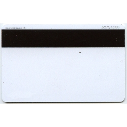 Plastkort hvite Hico 2750 + Rewrite folie