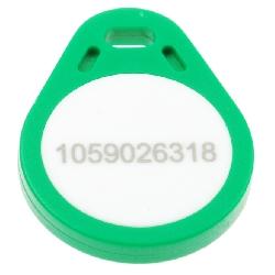 Key Fob GRØNN Mifare 4k
