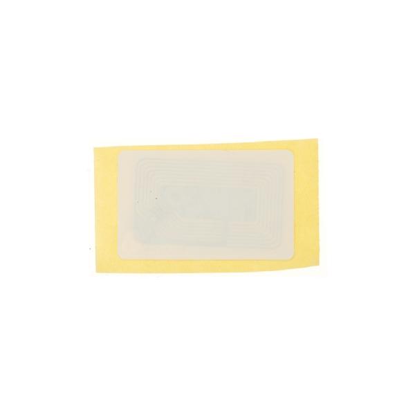 Sticker Mifare 4k Hvit 28x45mm etikett på rull