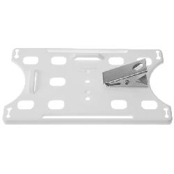 Kortholder Cardkeep hvit vertikal