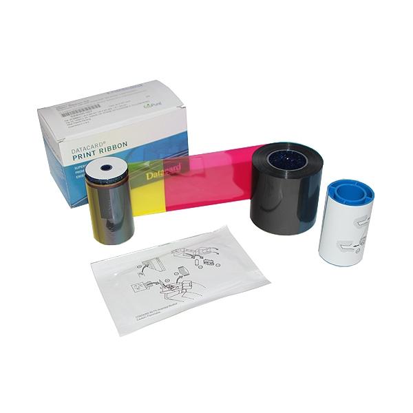 Fargebånd Datacard SP35/55/75 SD260/360 YMCKT kit 250 kort