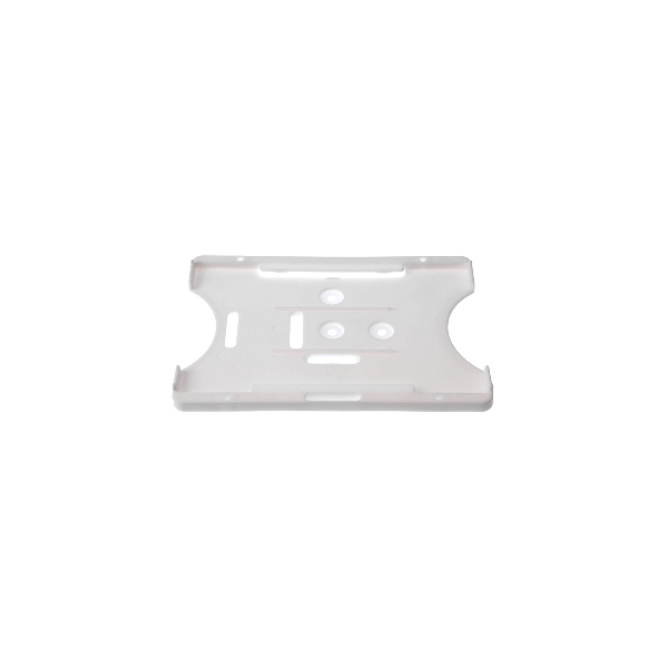 Kortholder Safebadge hvit, kun holder