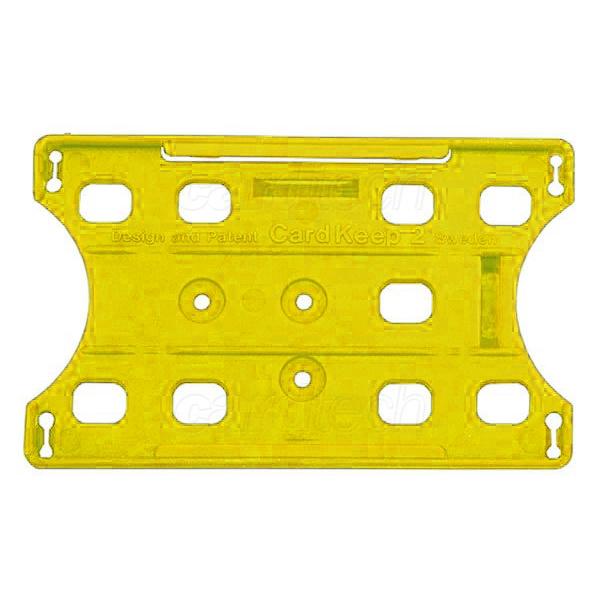 Kortholder Cardkeep2 gul, kun holder