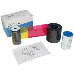 Fargebånd Datacard SP35/55/75 SD260/360 YMCKT kit 500 kort