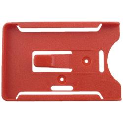 Kortholder Cardkeep5 rød, kun holder