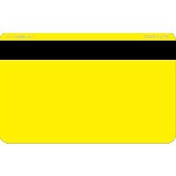 Plastkort gult Hico 2750 + EM
