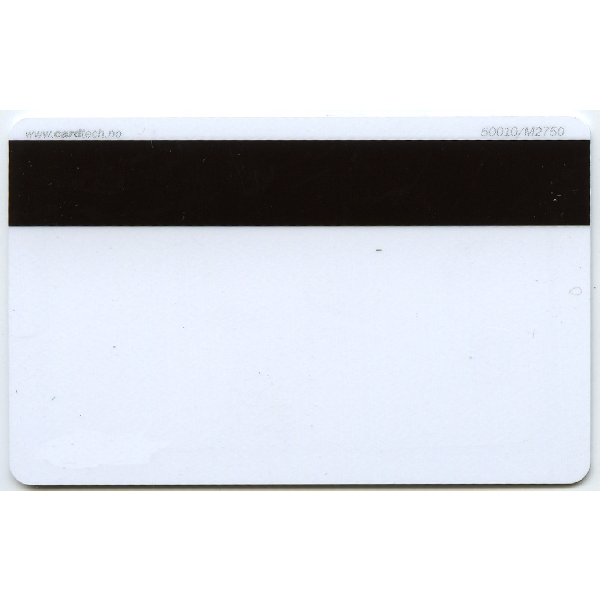 Plastkort hvite Hico 2750 + Mifare Desfire EV1/ kodbar prox