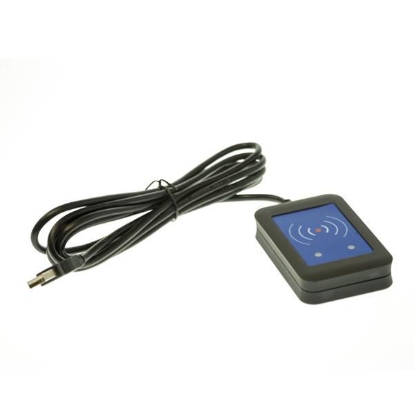 Kortleser E 125Khz multi wedge/tastatur/serie/com (EM Hitag