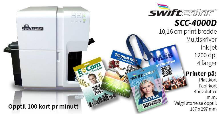 Swiftcolor SCC-4000D Multiskriver Inkjet