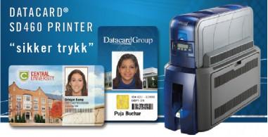 Datacard SD460 med tanke på sikkerhet